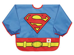 DC Comics Costume Sleeved Bib - Superman