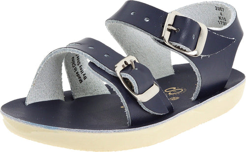 Salt Water Surfer sandal- Navy