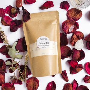 Bath Milk - Foaming Magnesium & Rose Petal