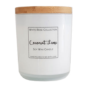 White Glass Jar - Large *Limited Stock*