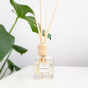 Reed Diffuser - 140ml Square - WhiteRoseCollection