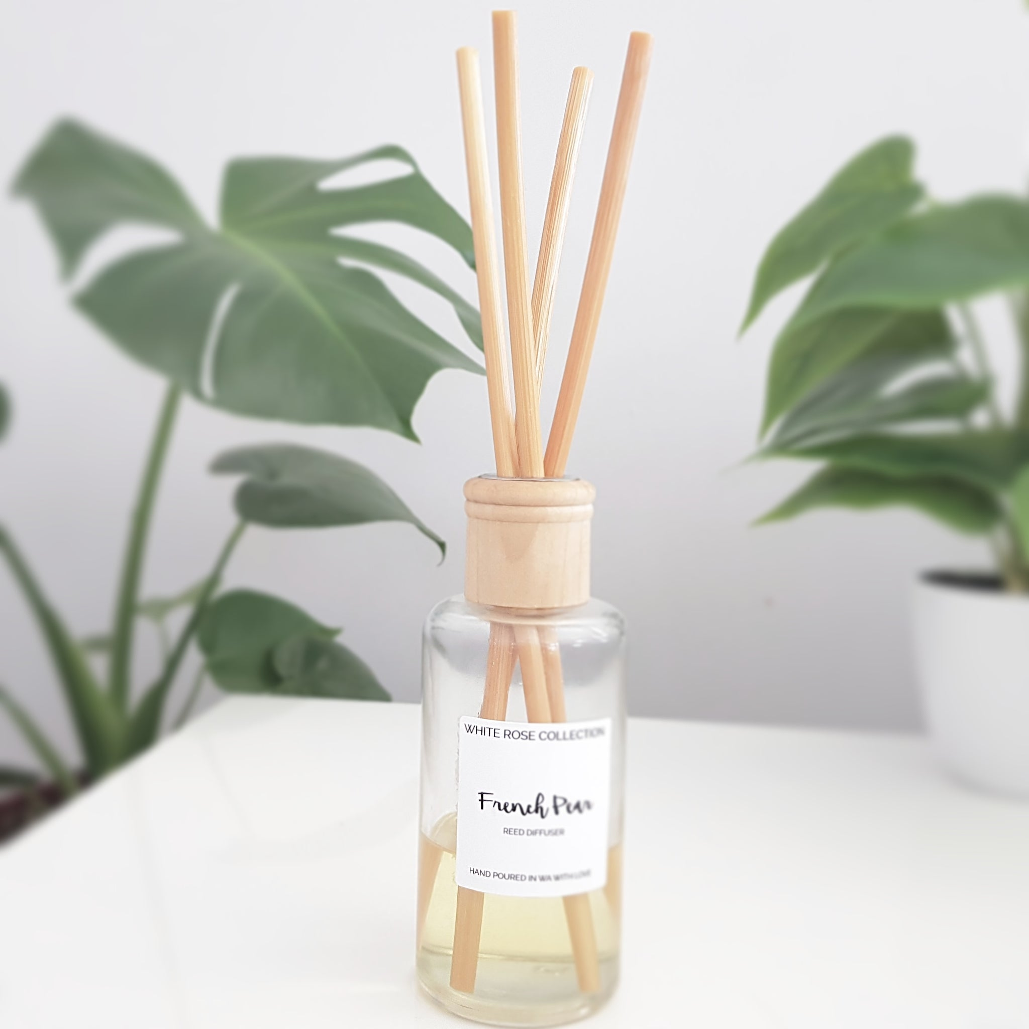 Reed Diffuser - 200ml Round - WhiteRoseCollection
