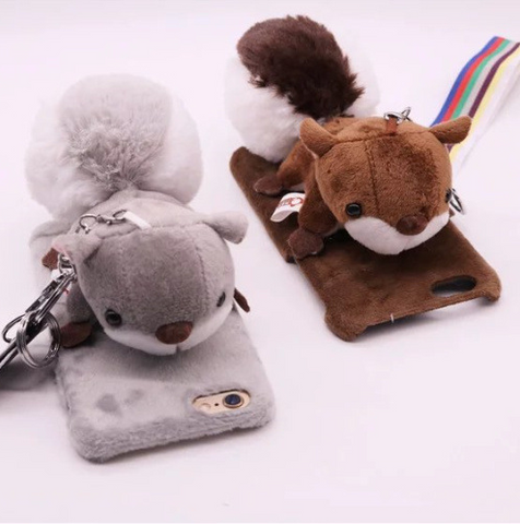 OPPO 3D Cute little squirrel Protective Case