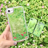 Iphone New Fashion Fruit plants Quicksand Tpu