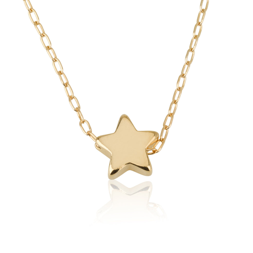 star necklace fullxfull moon zoom tiny and filled jsak gold il listing uk