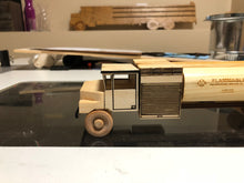 "R-11 Fuel Truck - 12"" Wood Scale Model"
