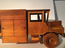 "R-11 Fuel Truck - 24"" Wood Scale Model"