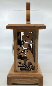 Hummingbird Clock - Wood Clock - Handmade Clock - Scroll Saw Clock - Bird Clock - Hummingbird