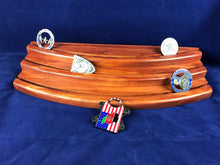 Three Tier Challenge Coin Display