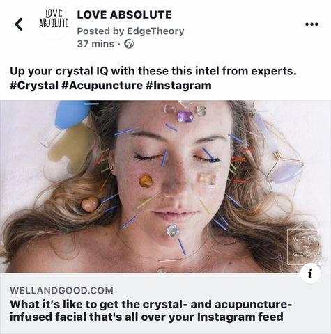 Crystal and Accupressure Facials