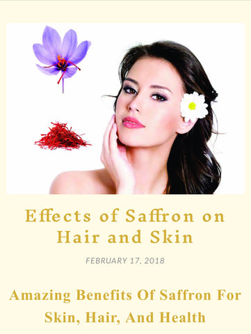 Saffron For Skin