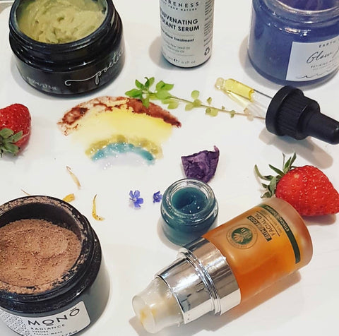 Rainbow Flags Themed Review of Natural Products