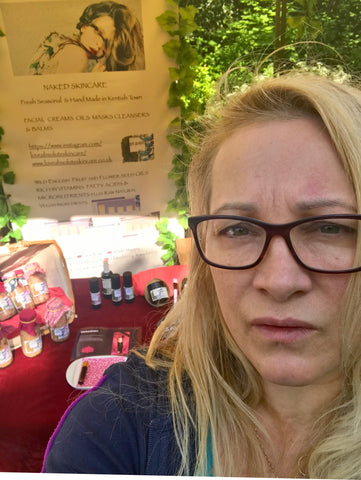 Love Absolute Skincare at Ally Pally Sarah