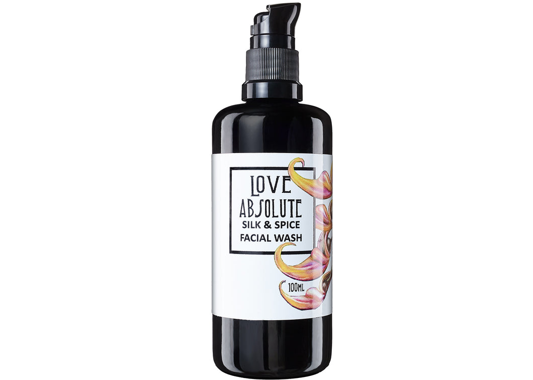 Silk and Spice Facial Wash - Love Absolute