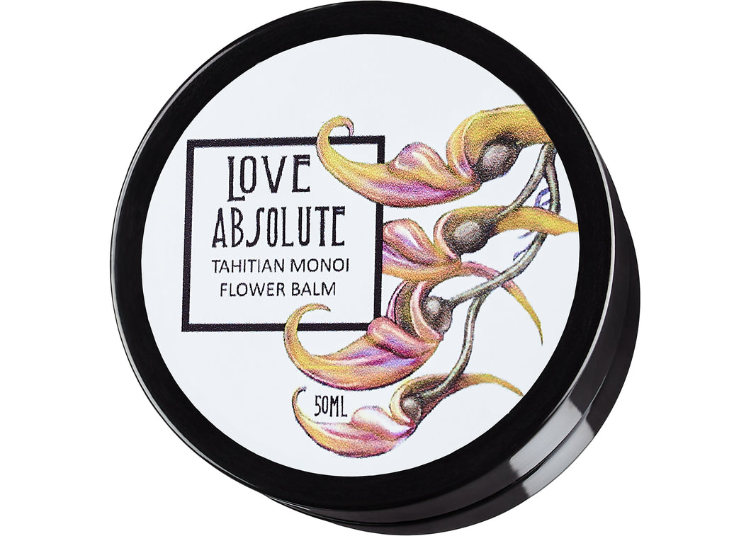 Tahitian Monoi Flower Balm - Love Absolute