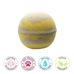 Banoffee large bath bomb