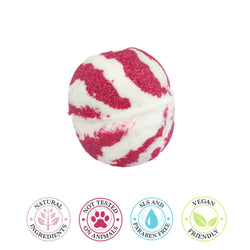 Bath Bomb - Peppermint Candy Cane