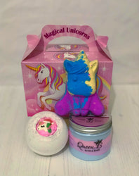 Unicorn bath & shower set