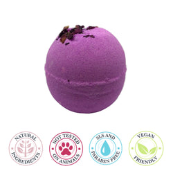 Flower Power Rose Bath Bomb