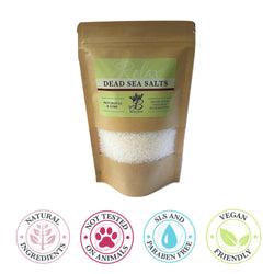 Pachouli & Lime Dead Sea Salts - 400g