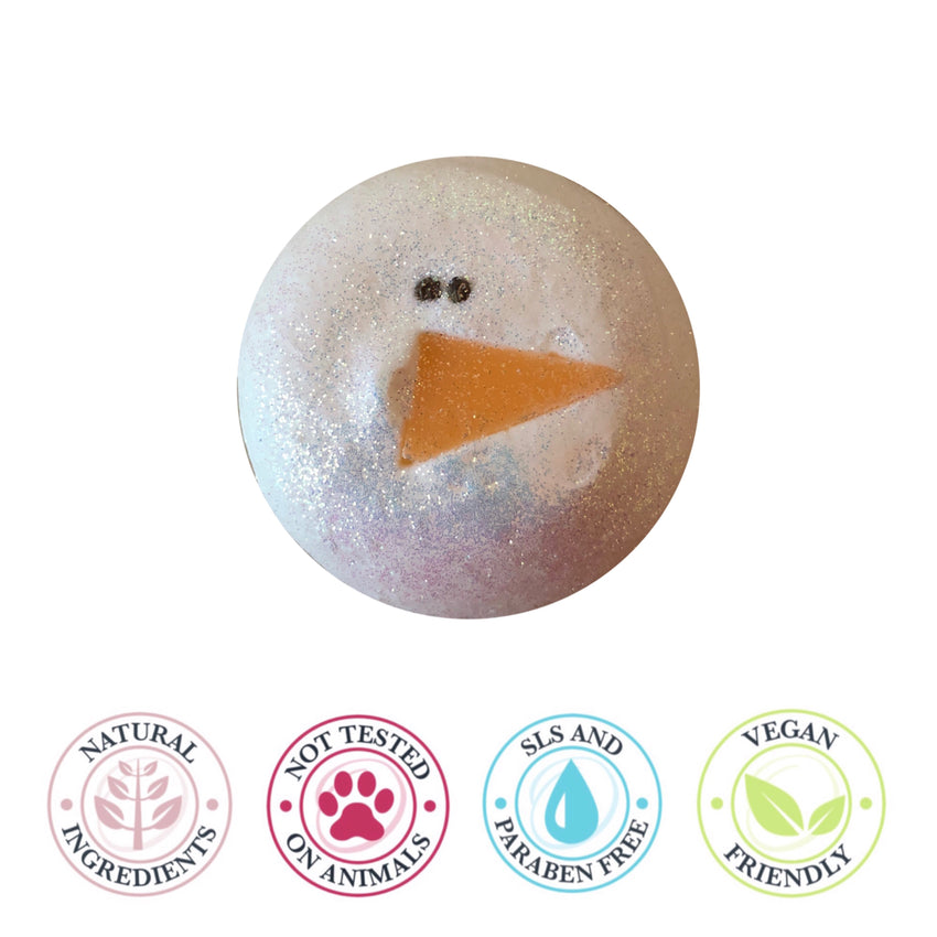 Floating Snowman bath bomb