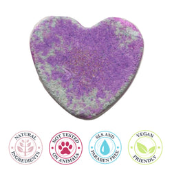 Unicorn Heart bath Bomb