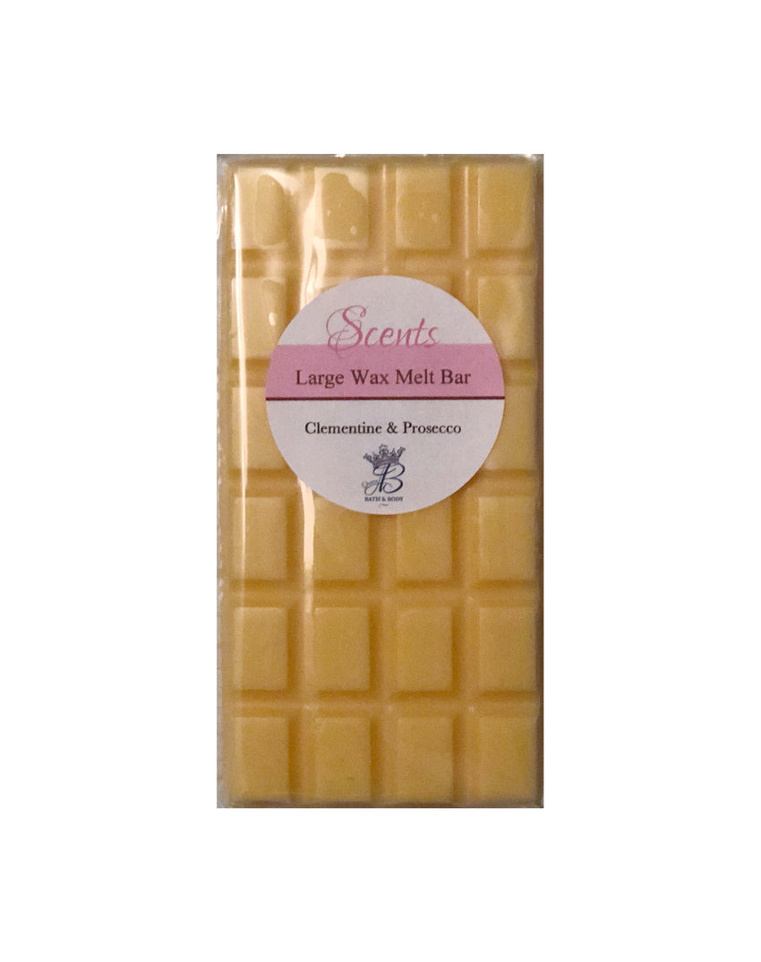 Large Wax Bar - Clementine & Prosecco