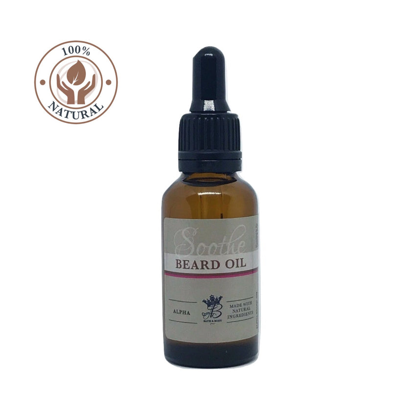 natural, cruelty free beard oil for men