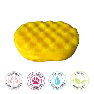 Soap Sponge - Rhubarb & Custard