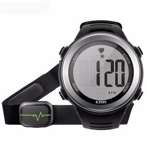 The Pico Bolívar Heart Rate Monitor Digital Watch with Chest Strap