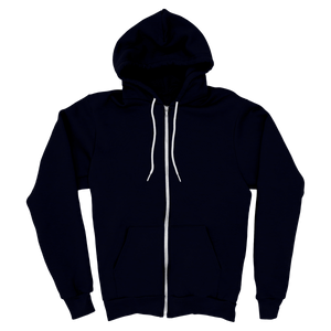 Blue - Zipper Hoodie - TheSixtyNine