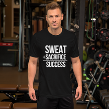Sweat+Sacrifice=Success - Round Neck T-Shirt For Men - TheSixtyNine