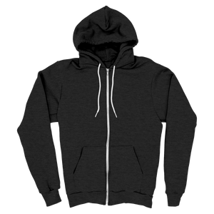 Charcoal - Zipper Hoodie - TheSixtyNine