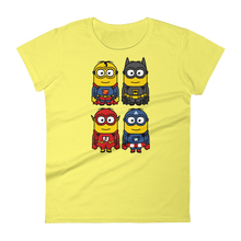 Minion Heros - Round Neck T-Shirt - TheSixtyNine