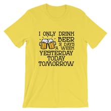 Beer-3-Days-A-Week - Round Neck T-Shirt For Men - TheSixtyNine