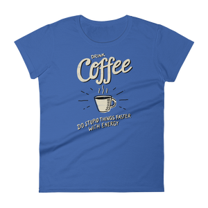 Coffee Lover - Round Neck T-Shirt - TheSixtyNine