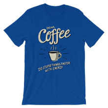 Coffee Lover - Round Neck T-Shirt For Men - TheSixtyNine