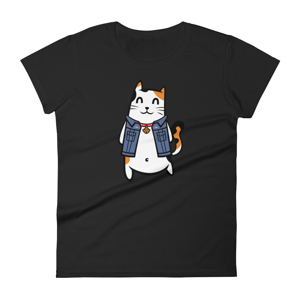 Cool Cat - Round Neck T-Shirt - TheSixtyNine