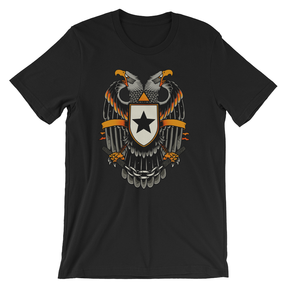 Eagle - Round Neck T-Shirt For Men - TheSixtyNine