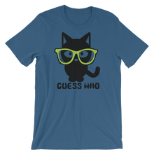 Guess-Who Cat - Round Neck T-Shirt - TheSixtyNine