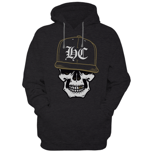 Hardcore Skull - Hoodies - TheSixtyNine