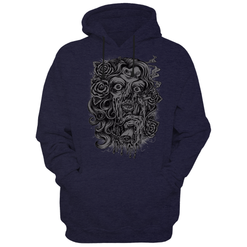 Lady Zombie - Hoodies - TheSixtyNine