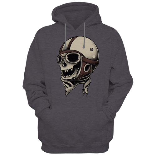 Pilot Skull - Hoodies - TheSixtyNine
