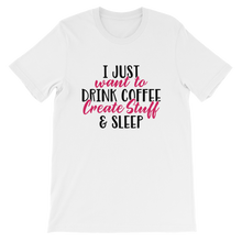 Just Drink Coffee - Round Neck T-Shirt - TheSixtyNine