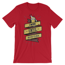 Beer -O'Clock - Round Neck T-Shirt For Men - TheSixtyNine