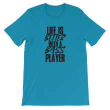 Bass Player - Round Neck T-Shirt For Men - TheSixtyNine
