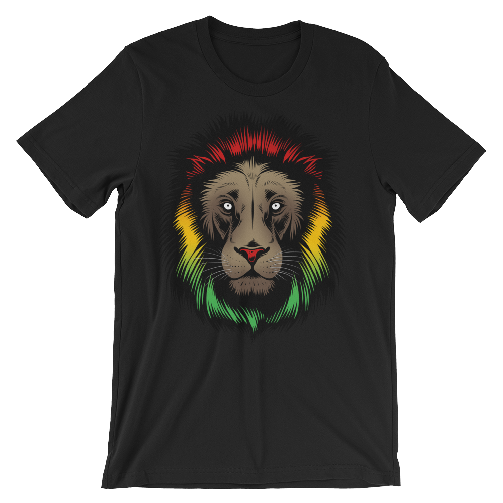 Lion Reggae - Round Neck T-Shirt For Men - TheSixtyNine