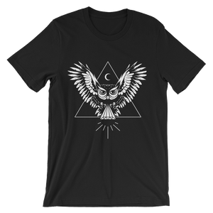 OWL - Round Neck T-Shirt For Men - TheSixtyNine