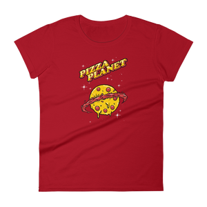 Pizza Planet - Round Neck T-Shirt - TheSixtyNine