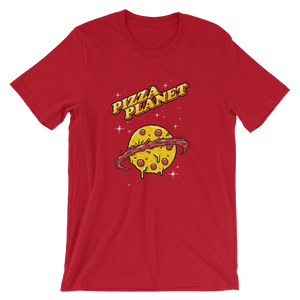 Pizza Planet - Round Neck T-Shirt For Men - TheSixtyNine